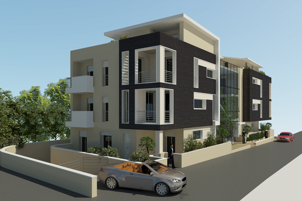 Via guerrini pesaro for Progetti di costruzione di appartamenti